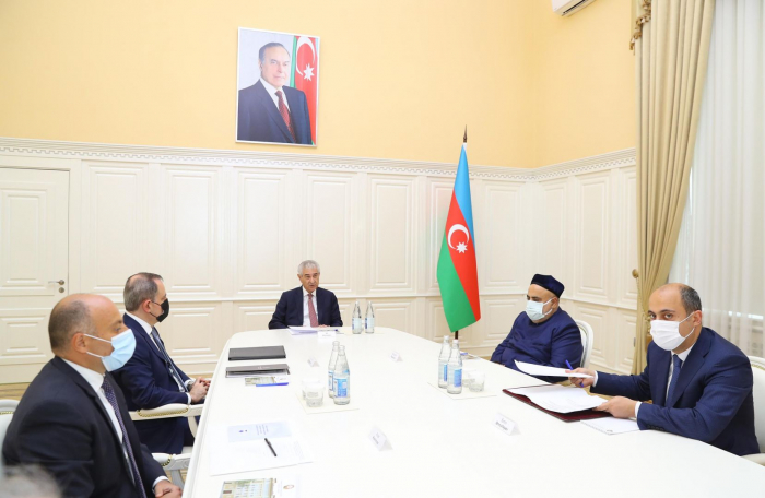 """Azerbaijani commission on """"Convention for Protection of Cultural Property in Event of Armed Conflict"""" holds first meeting"""