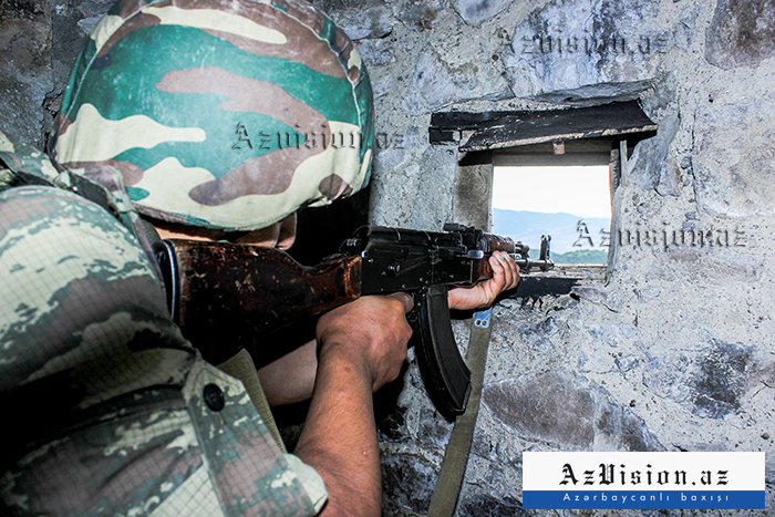 Armenia again fires at Azerbaijani army's positions in Nakhchivan direction