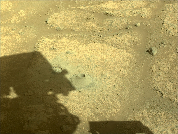 NASA Mars rover begins drilling, collecting rocks