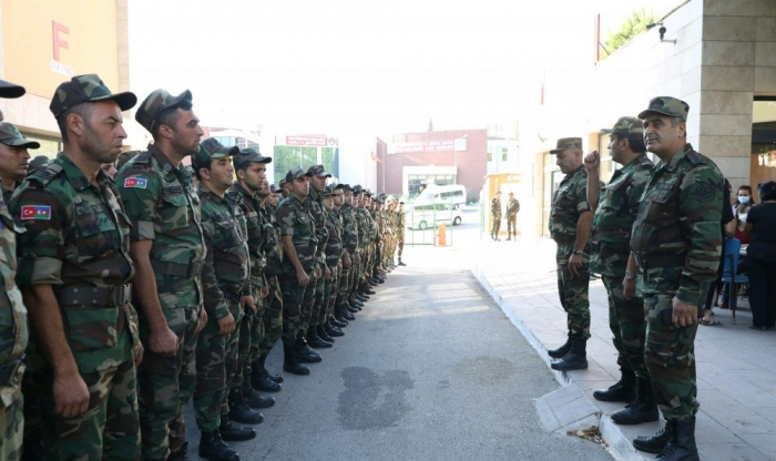 Third group of Azerbaijani firefighters arrives in Turkey