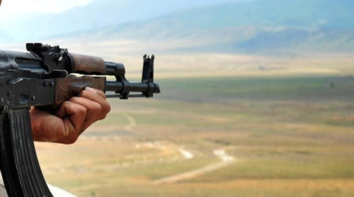 Armenian troops again fire at Azerbaijani army's positions