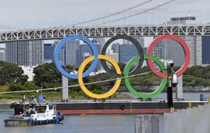 Olympic rings in Tokyo removed, to be replaced with Paralympic logo
