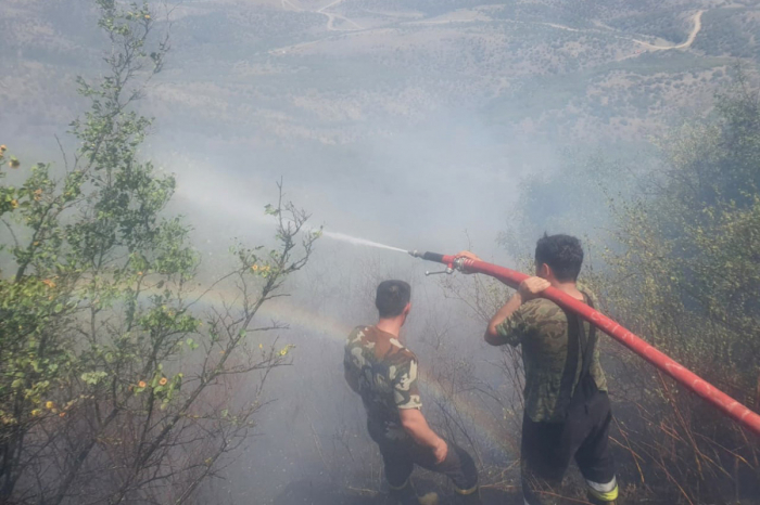 Azerbaijani MES continues fighting against fires in Gabala