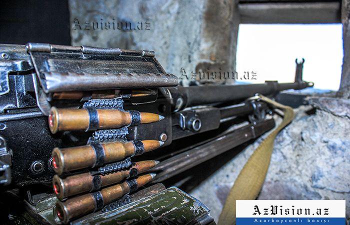 Armenia again fires at Azerbaijani army