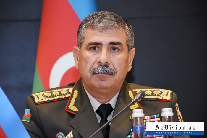 Azerbaijani defense minister leaves for Turkey