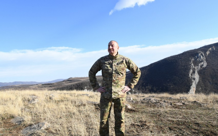Azerbaijani president speaks about Armenian savagery in Kalbajar –   VIDEO