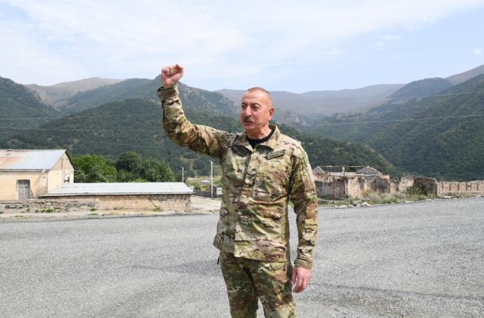 Ilham Aliyev: Both Karabakh and Zangazur are Azerbaijan