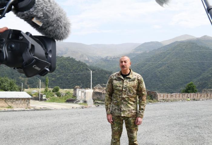 Armenia was aiming to keep Azerbaijani lands under occupation forever -Ilham Aliyev