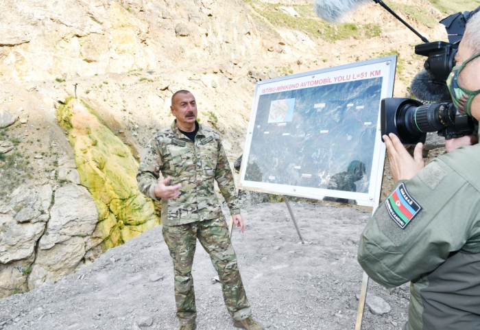 After the occupation of Kalbajar, occupation of other lands was inevitable: Azerbaijani president