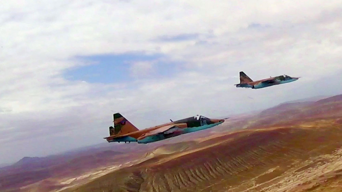 Aircraft of Azerbaijan Air Force carry out training flights –   VIDEO