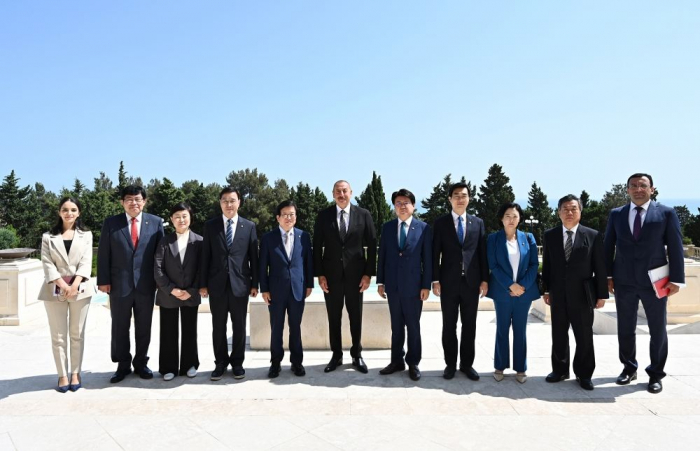Azerbaijan invited Korean companies to implement projects in liberated lands – President Ilham Aliyev