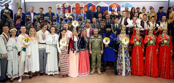 Azerbaijani servicemen take part in creative contest in Moscow