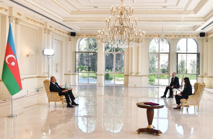 Prezident BMT rəsmisi ilə görüşdü -  YENİLƏNİB