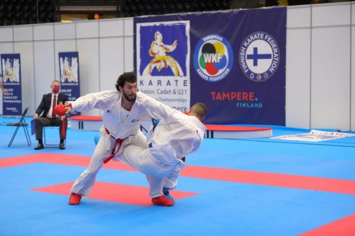 Azerbaijani karate fighter becomes two-time European champion