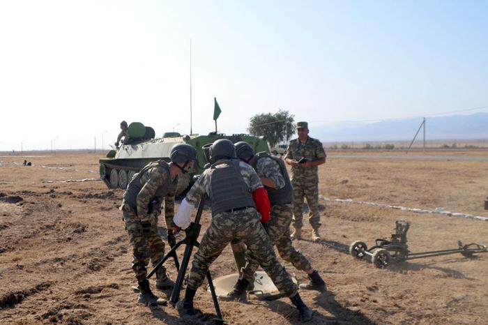 "Azerbaijani servicemen getting ready for ""Masters of Artillery Fire"" contest"