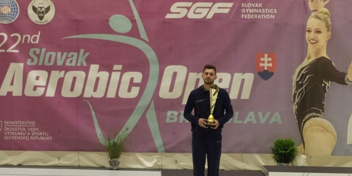 Azerbaijani gymnast wins silver in Slovakia