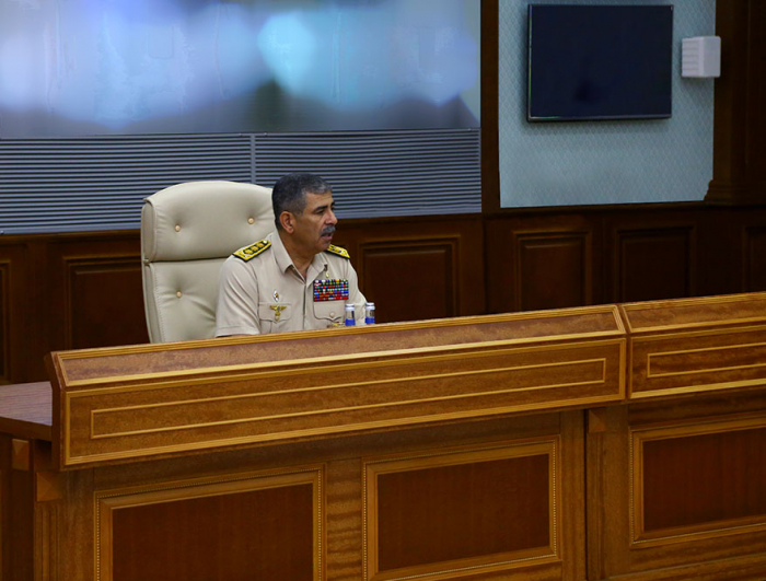 Defense Minister held an official meeting