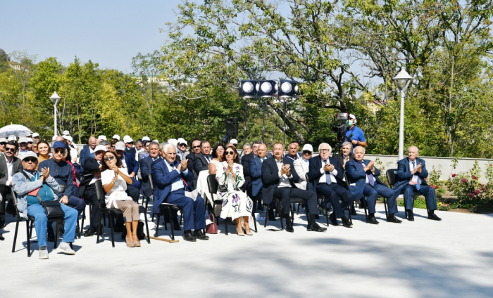 Azerbaijani president, first lady attend opening of Vagif Poetry Days in Shusha city - PHOTOS UPDATED