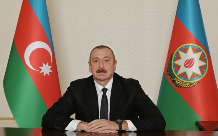 Azerbaijani president congratulates Kyrgyz counterpart