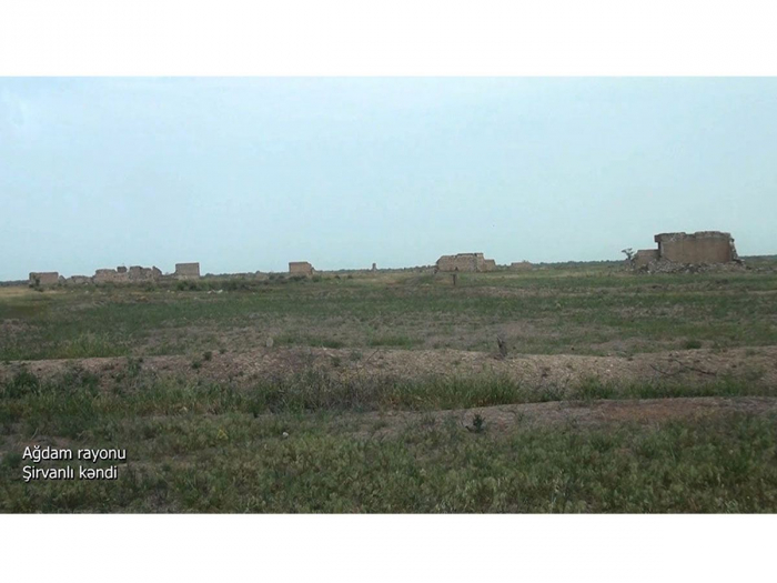 Azerbaijan MoD shares new   video   from Aghdam district