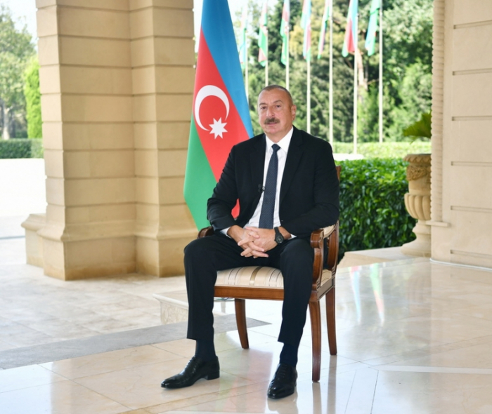 President Aliyev: Unlike the Armenians, we did not carry out ethnic cleansing