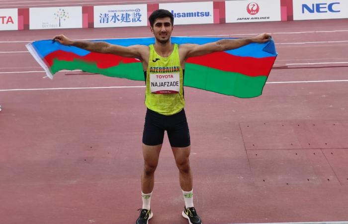 Long jumper Najafzade earns 13th medal for Azerbaijan at Tokyo Paralympics