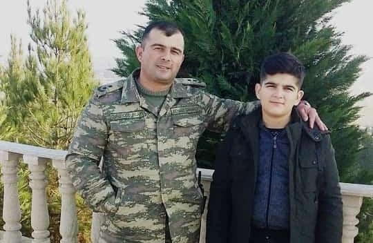 """Şəhid zabitimizin oğluna son sözləri:  """"Daim başınızı dik tutun!"""""""