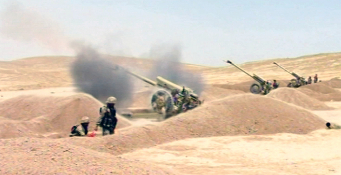 Azerbaijan Army conducts live-fire exercises - VIDEO