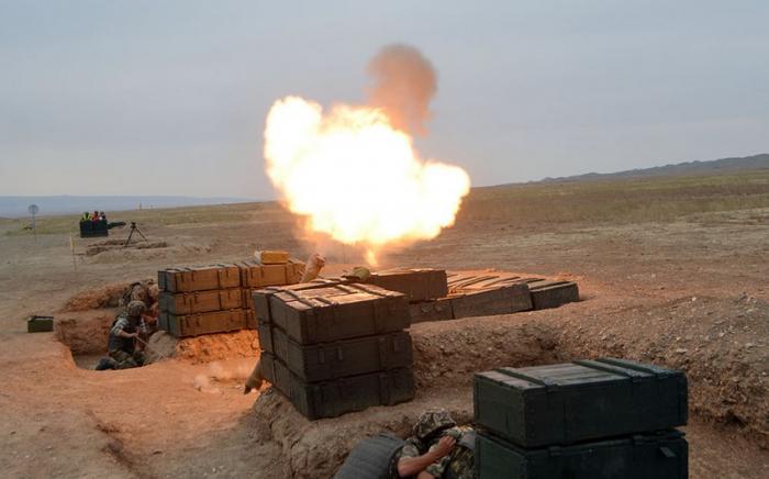 Artilleriyaçılar beynəlxalq müsabiqəyə hazırlaşır