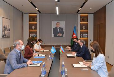 Le ministre azerbaïdjanais des AE s