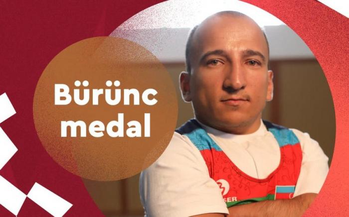 Azərbaycan Paralimpiya Oyunlarında ilk medalını qazanıb