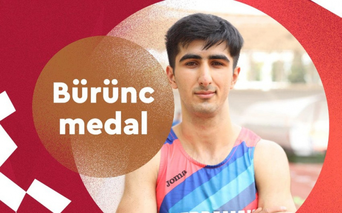 Azərbaycanın para-atleti bürünc medal qazandı