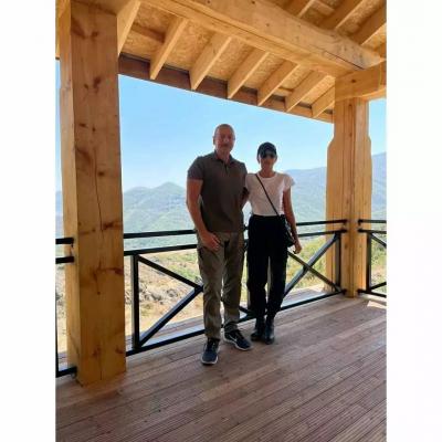 First VP Mehriban Aliyeva posts photo from her visit to Khojavand district