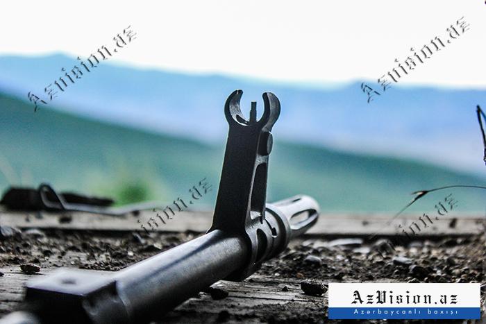 Ermənistan silahlı qüvvələri yenidən atəşkəsi pozub