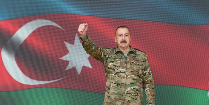 """""""Bu gün biz hamımız ürəyimizdə deyirik ki, ədalət bərpa edildi"""" -    Azərbaycan lideri"""