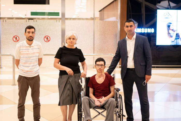 Türkiyəyə gedən 7 qazimiz sağalaraq Vətənə qayıdıb