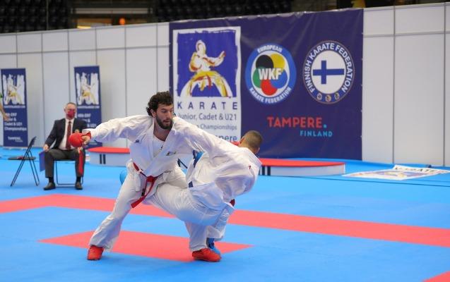Karateçimiz    ikiqat Avropa çempionu    adını qazandı