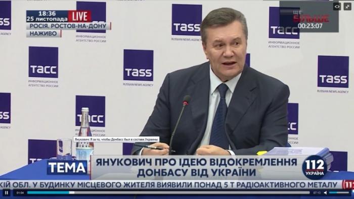 Yanukoviç    2014-cü il dövlət çevrilişinin səbəblərindən danışıb