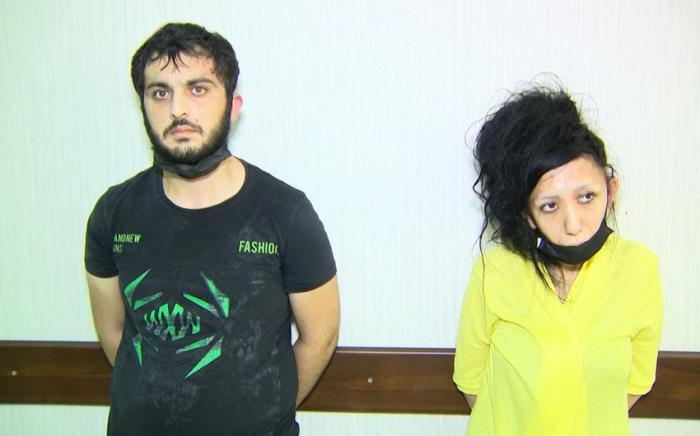 Bakıda narkotik satan qadın və tanışı saxlanıldı -    VİDEO