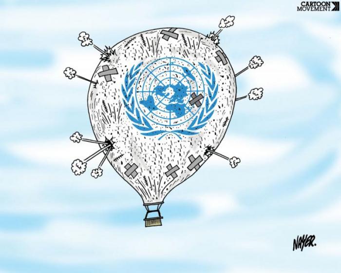 La Organización inútil de las Naciones Unidas  : si la ONU puede rehabilitarse en Karabaj-  Análisis