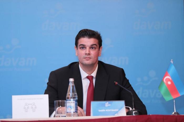 """""""Davam"""" beynəlxalq əlaqələrini Prezident mükafatçısına tapşırdı"""
