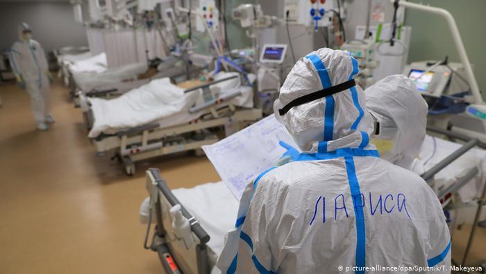 Rusiyada virusdan gündəlik ölüm sayı minə yaxınlaşır