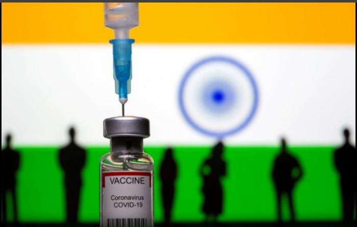 Hindistandan vaksin rekordu:    Bir günə 8.8 milyon peyvənd vurulub