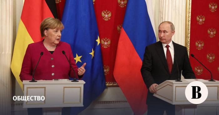 Merkel kansler kimi Putinlə son dəfə görüşəcək