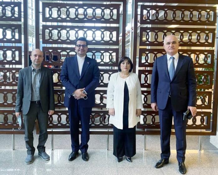 Azərbaycan nümayəndə heyəti İrana gedib
