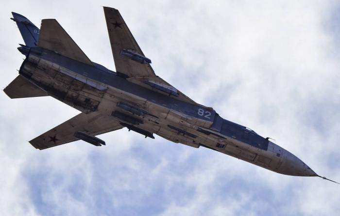 Qəzaya uğrayan Su-24-ün pilotları sağdır