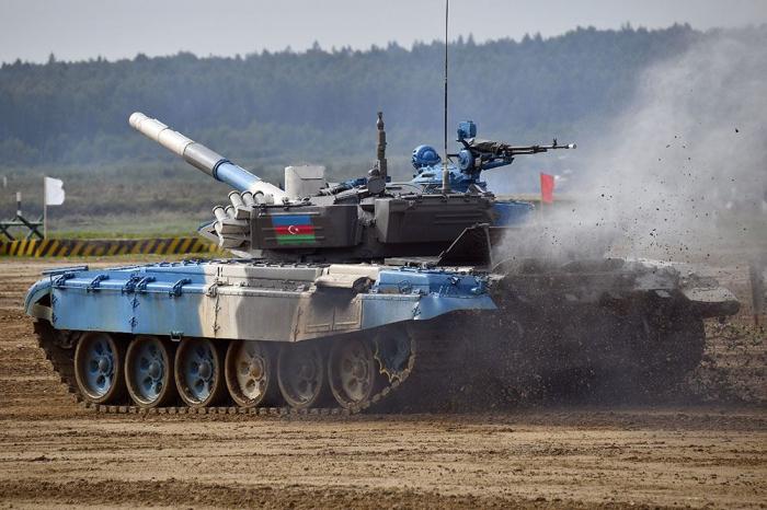 """Tankçılarımız """"Beynəlxalq Ordu Oyunları - 2021"""" yarışında uğurla iştirak edirlər -    FOTO"""