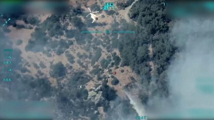 Les drones contribuent à grande échelle à la lutte contre les incendies de forêts en Turquie