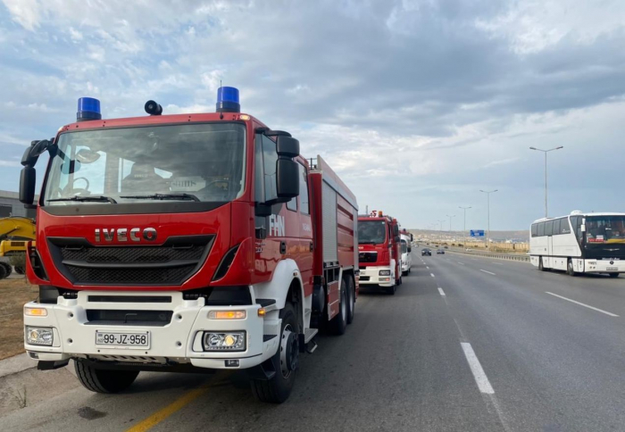 Fourth group of Azerbaijani firefighters, rescuers sent to Turkey
