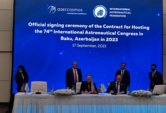 Bakú acogerá el Congreso Internacional de Astronáutica en 2023